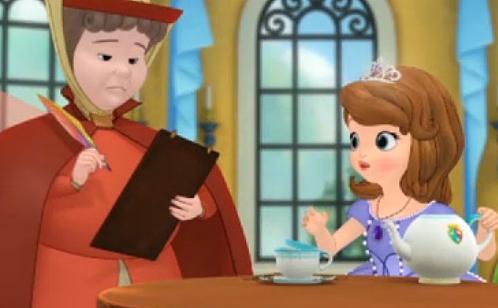"""La Princesa Sofía de Disney es muy """"blanquita"""""""