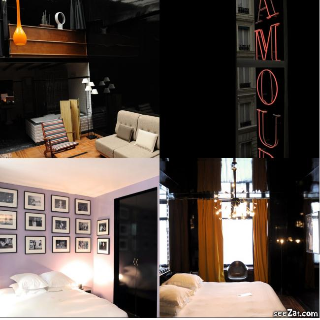 Hoteles originales en par s para san valent n living in for Hoteles diseno paris