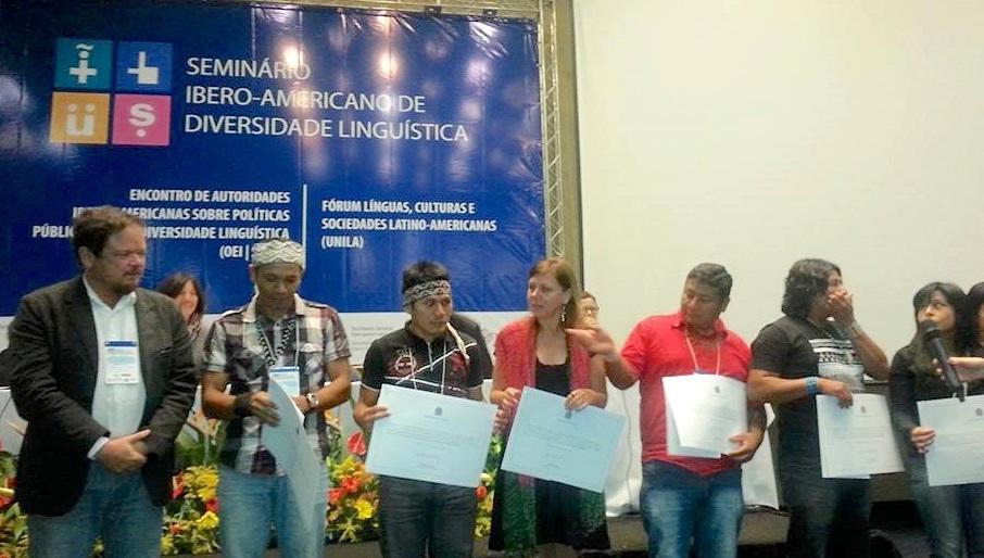 Índios guarani recebem título de Língua de Referência Cultural Brasileira