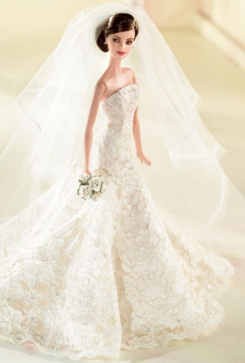 Juegos de vestidos de novia de barbie