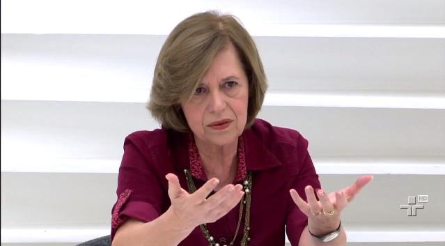 A professora Maria José Rosado Nunes, presidente da ONG 'Católicas pelo Direito de Decidir' (Foto: Reprodução)