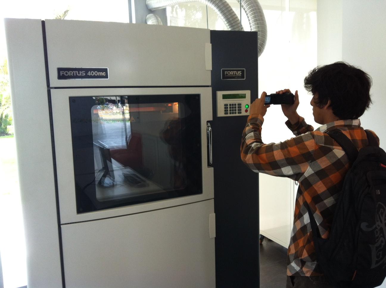 Presentan La Primera Impresora 3d En Una Universidad