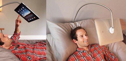 Soporte para ver la tablet ipad en concreto forocoches - Soporte tablet cama ...