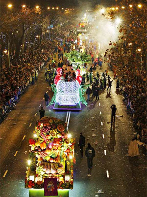 Cabalgata Reyes. Fuente P&uacute;blico