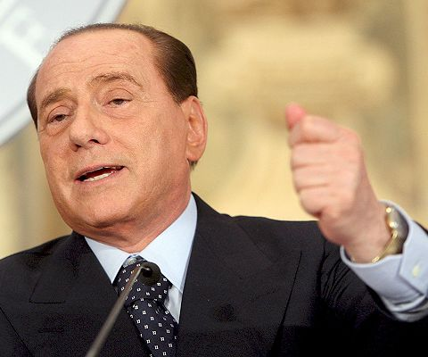silvio-berlusconi. Fuente:Radio Santa Fe