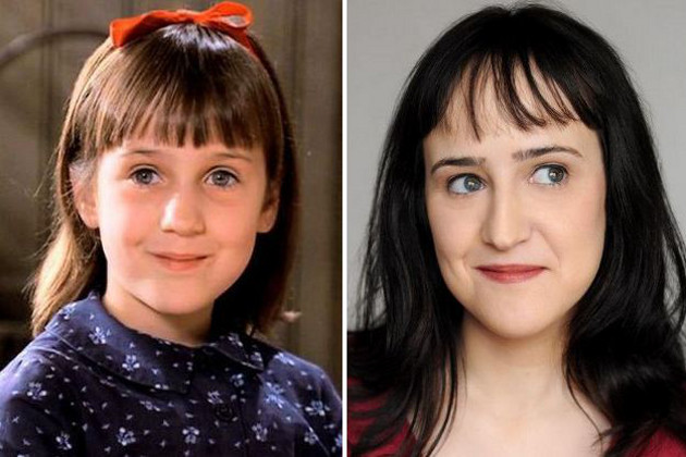 Matilda Cast Then and Now