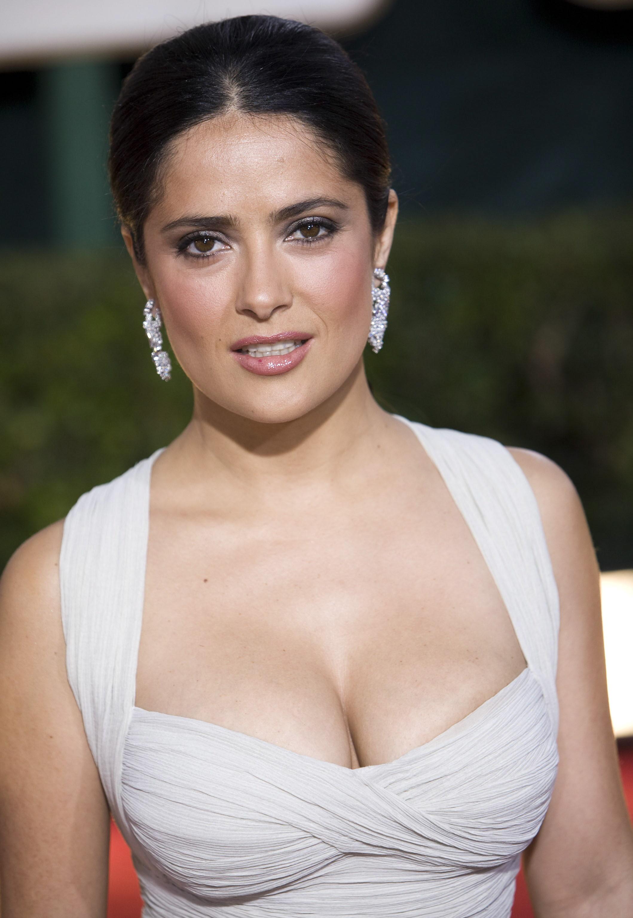 actriz mexicana Salma Hayek está encantada con su vida familiar, con ... Adam Sandler