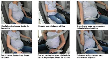 Mal uso del cinturón de seguridad