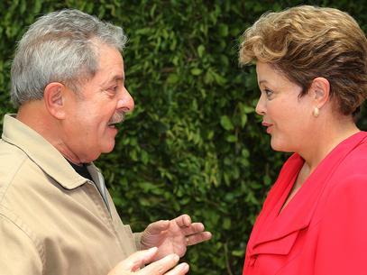 Lula e Dilma reuniram-se em hotel para evitar encontro com manifestantes (Foto: Ricardo Stuckert/Instituto Lula - 25/01/2013)